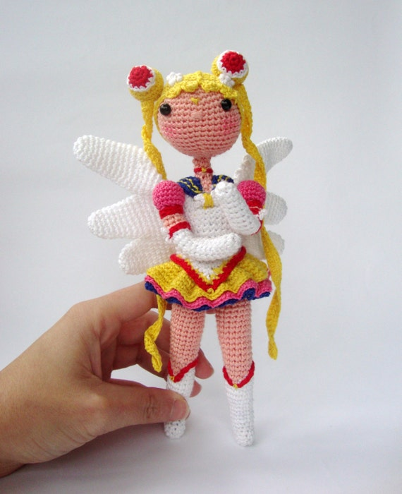 Amigurumi Seilor Moon : Items similar to Eternal Sailor Moon . amigurumi version ...
