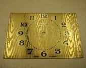 Old Brass Alarm Clock Face - g168