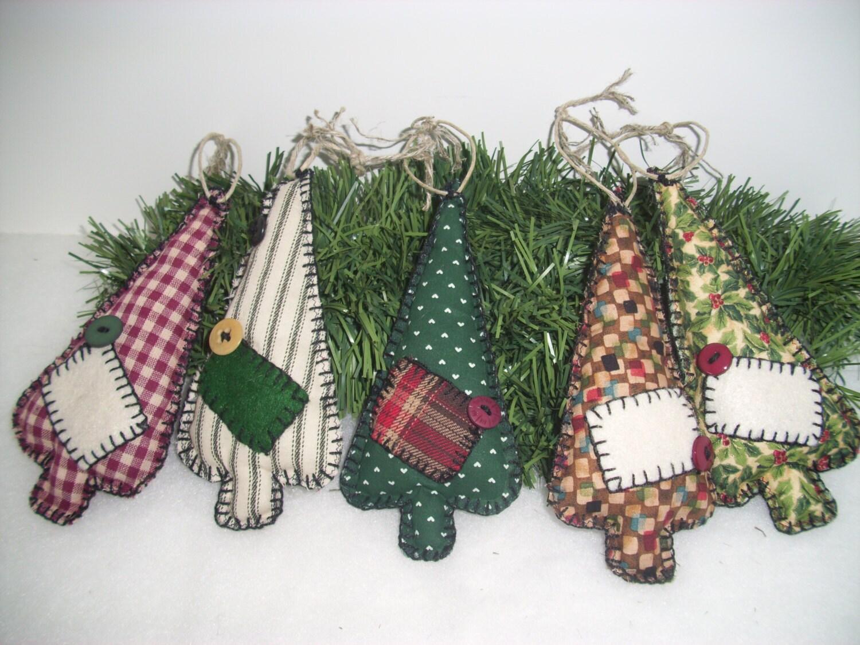 handmade ooak christmas tree ornaments five primitivecountry. Black Bedroom Furniture Sets. Home Design Ideas