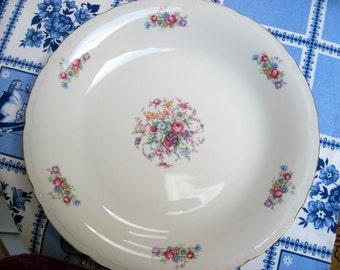 """Porcelain """"Bouquet"""" Serving Bowl"""