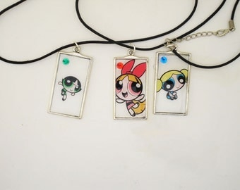 Powerpuff girls jewelry