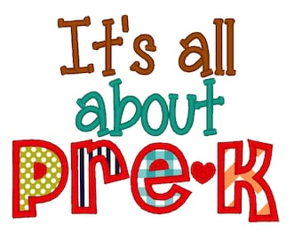 Image result for it's all about pre k