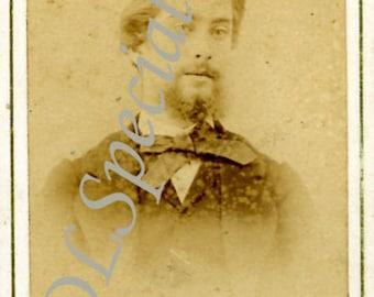 John Poole Antique Photograph Carte De Viste 1865
