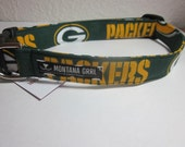 Dog Collar....GO PACKERS...let your critter show their team pride