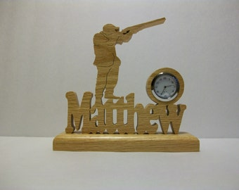 Hunter Desk Clock