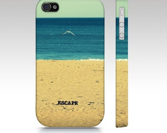 Escape - Art Photography, ocean, sea, beach, summertime, June, July, Samsung, iPhone, iPod, Blackberry, HTC cell phone case