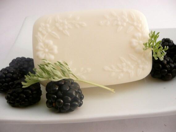Organic Goat Milk Soap, Hand Made Soap, Blackberry Sage