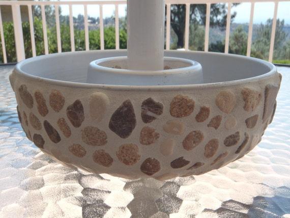 Natural Stone Mosaic Planter Succulent Umbrella Planter