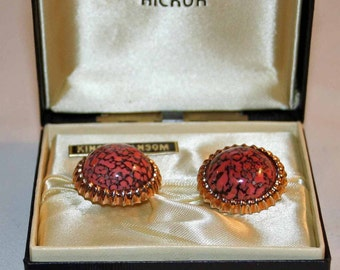 Vintage Hickok cufflinks - King's Ransom from the continental collection