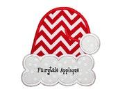 Digital Machine Embroidery Design - Santa Hat Applique