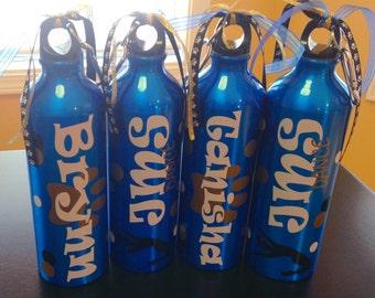 Personalized Dance Team Water Bottle
