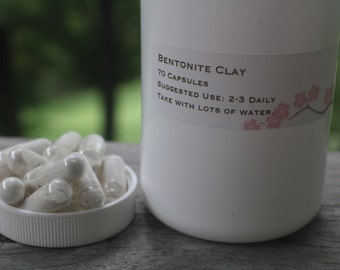 Bentonite Clay Capsules