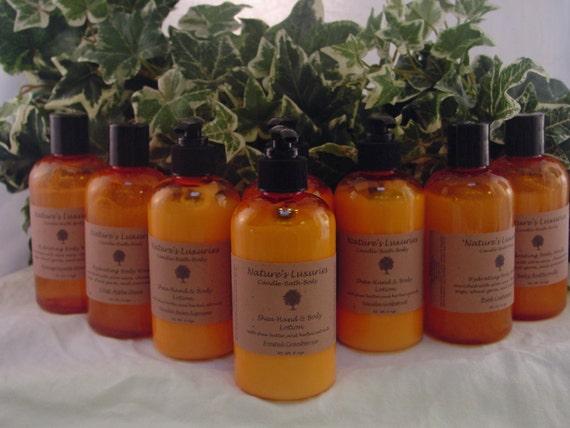 Organic Coconut Hand & Body Lotion Pick a scent 8 ozs