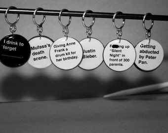 Cards Against Humanity Stitch Markers (Sets of 6)