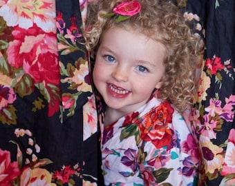 Flower girls & Junior bridesmaids robes, super cute !