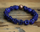 Kids bracelet/ skull bracelet/ kids jewelry/ skull jewelry
