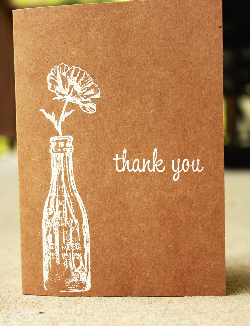 Thank you cards for wedding home decor for Thank you cards for wedding