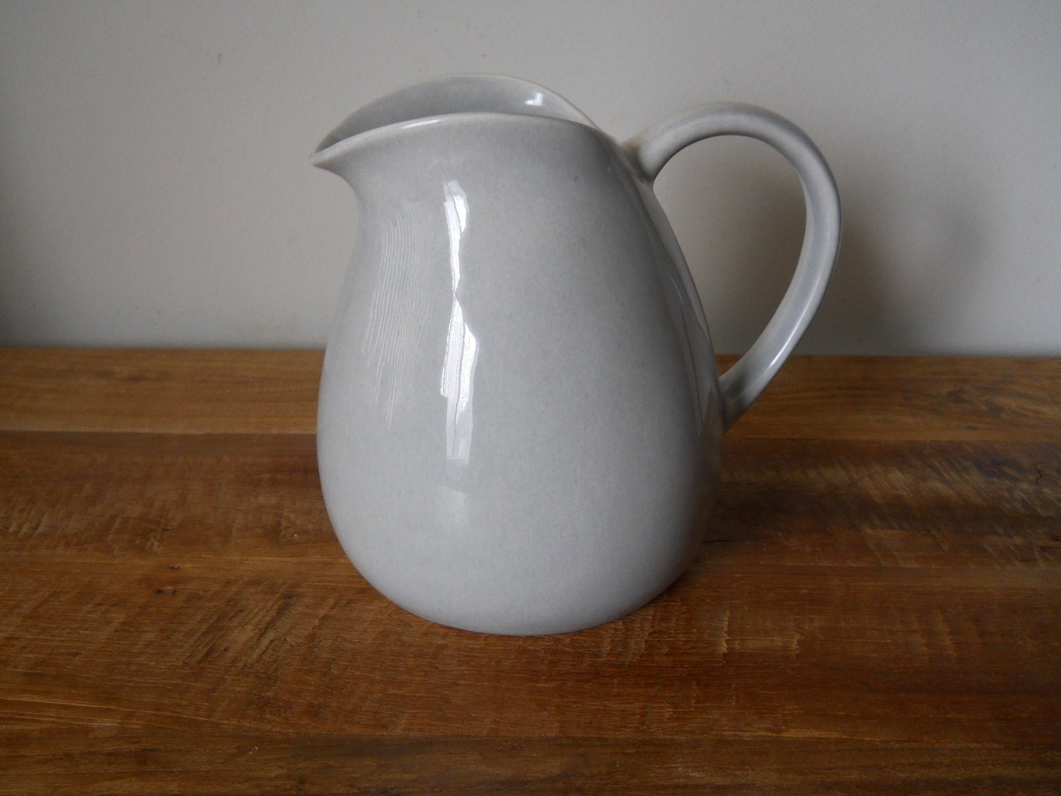 Russel wright american modern grey pitcher - Russel wright pitcher ...