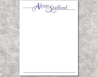 Personalized Notepads - Business or formal - Sets of 2 or 4