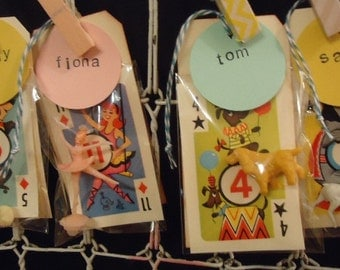 Party Favor OOAK Vintage Zoo or Circus Wedding Favors Children's Party