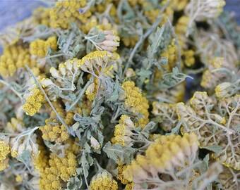 Organic Dried Yarrow, dried herb, Wicca, Metaphysical, Hoodoo, Rootwork, Conjure