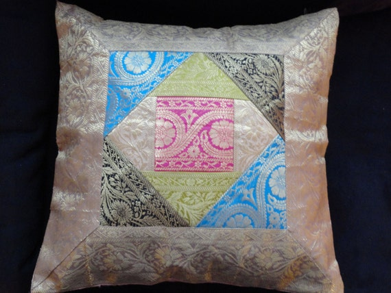 silk sofa throw pillow