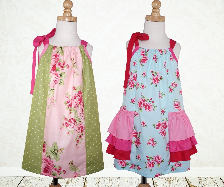 Pillowcase dress pattern pdf Girls dress by ...
