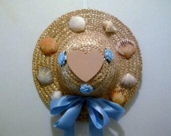 Seashell Decorative Straw Hat
