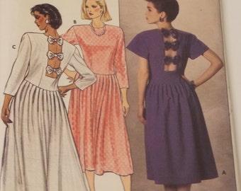 Vintage Kathryn Conover Designed Butterick Pattern 3019 Size 12