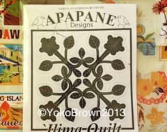 "Hawaiian quilt pattern ""Ilima "" 20 inch x 20 inch"