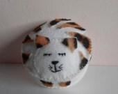 Pin Cushion Felt Cat