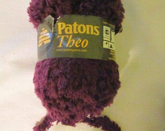 1 Patons Theo Mixed Fiber Yarn - Thick Eyelash - 2 colors available