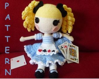 Alice in LalaLoopsy Land type doll PATTERN