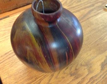 Vintage Flamite Pottery Vase made in France