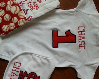 St. Louis Cardinals Baby Gift Set