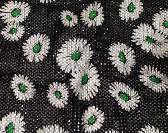 Daisy Print Pillow Case - One of a Kind Sample