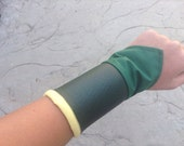 Toph's Green Wrist Cuffs
