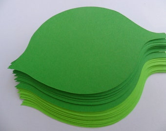 Paper Leaves  any colors  ,paper die cut,die cut shapes, weddings anniversary birthday  wishing tree
