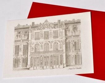 Palace De Versailles- Blank Greeting Birthday Anniversary card