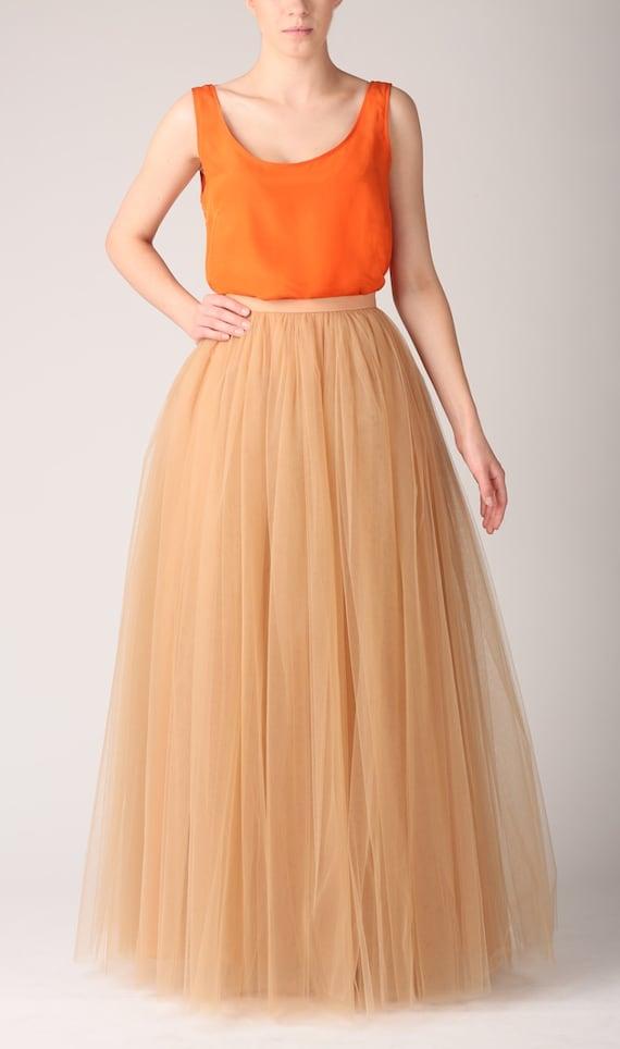 Petticoat under maxi dress