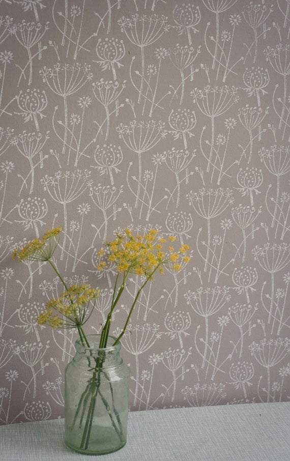 Tussock patterned paint roller - Papel paredes ikea ...