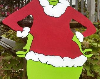 48 quot grinch christmas yard art decoration