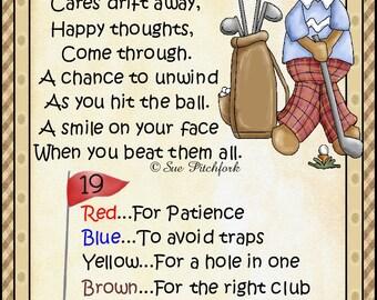 Golfer Man MM