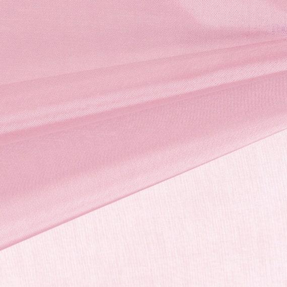 Baby pink organza fabric by the yard wedding decoration for Baby fabric by the yard