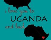 I Love You to Uganda and Back