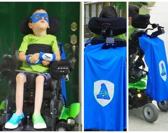 Wheel Chair SuperHero Cape - Personalized UBaHero - Give your Little Hero Special Powers