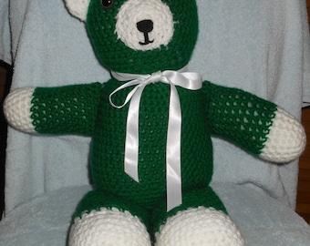 CROCHETED TEDDY BEARS - Christmas