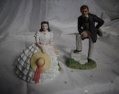 Vivien Leigh as Scarlett O'Hara  & Clark Gable as Rhett Butler  Images of Hollywood Series