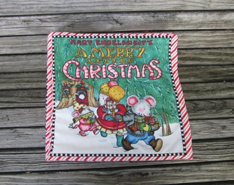Toy Cloth Book Merry Christmas Cloth Toy Book