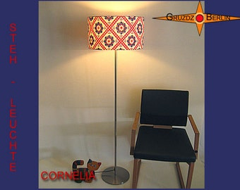 Floor lamp Retro CORNELIA prilflowers retrodesign 70s
